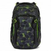 Satch match Mochila per la escuela 45 cm compartimento Laptop black green neon