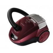 Aspirator cu sac Albatros Modena 80 Eco, 800 W, Sac textil 3 L, Filtru lavabil HEPA, Tub metalic telescopic, Soft start, Mov