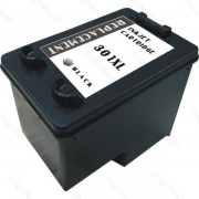 HP : Cartuccia Ink-Jet Compatibile ( Rif. 301XL BK ( CH563EE ) ) - Nero - ( 480 Copie )