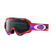 Oakley OO7030 10 XS O-FRAME MX TLD REFLECTION RB DARK GREY motocross szemüveg