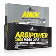Amok + Argipower 1500 Mega Caps (60+120 kap.)