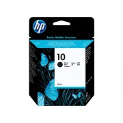 HP Cartucho de tinta Original HP 10 Negro para Business Inkjet 1000, 1200, 2300, 2800, DesignJet 110, 500, 70, 820, Officejet Pro K850
