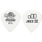 Dunlop 478R1.35 Tortex White Jazz III 1.35mm 72/Bag