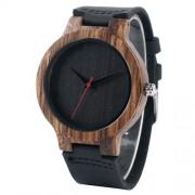 Drevené hodinky - v jednoduchosti je krása