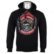 sweat-shirt avec capuche pour hommes Five Finger Death Punch - Black - ROCK OFF - FFDPHOOD02MB