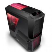 Кутия Zalman Z11 PLUS HF1, ATX, 2x USB3.0, черна, без захранване