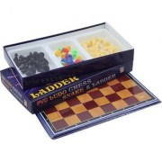 6th Dimensions 3 In 1 Pack- Chess + Ludo + Snake Ladder
