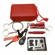 Kit pentru Supravietuire pentru Drumetii 7-in-1