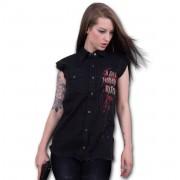 košile bez rukávů dámská SPIRAL - DARYL WINGS - Walking Dead - G006G070