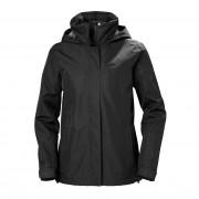 Helly Hansen Womens Aden Rain Jacket Black XXXXXL