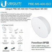 Ubiquiti PBE-M5-400-ISO PowerBeam M5 25dBi ISO 5GHz AirMAX 400mm 150+