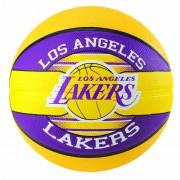 Bola Los Angeles Lakers Basquete Spalding NBA (Compre e Ganhe 1 Boné Spalding) - Tam. 7