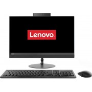 """All in One Sistem PC Lenovo IdeaCentre 520 (Procesor Intel® Core™ i3-7020U (3M Cache, up to 2.30 GHz), Kaby Lake, 21.5"""" FHD, Touch, 4GB, 1TB HDD @7200RPM + 128GB SSD, Intel® HD Graphics 620, Negru)"""