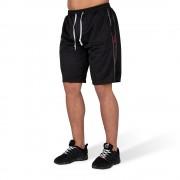 Gorilla Wear Functional Mesh Short (Zwart/Rood) - S/M