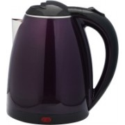 Zilant 1.8L BPA-Free Electric Kettle, Fast Heating Cordless Water Boiler with Auto Shut-Off and Boil-Dry Protection, LED Light Indicator(Purple) Electric Kettle(1.8 L, Purple)