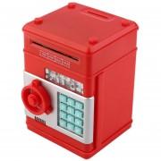 ER Mini Caja Fuerte De Simulación ATM Hucha -Rojo