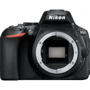 Aparat Foto D-SLR Nikon D5600, Body, 24.2 MP, Filmare Full HD, WiFi, NFC (Negru)