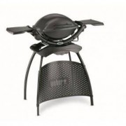 Weber Elektrogrill Weber Q 1400 Electric Grill with Stand and Tables
