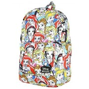 Loungefly Disney Princesses Backpack, Multi, One Size