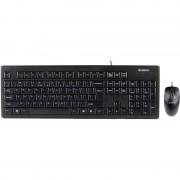Kit tastatura + mouse A4Tech KRS-8372 USB Black