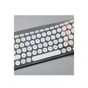 homesDecor Store Protector de Teclado de Silicona para Logitech K380 K 380 con Teclado Bluetooth, Blanco