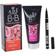 ADS BB Cream with ADS Sketch Pen Eyeliner (Set of 2)