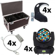 Stairville MH-100 Beam 36x3 LED Mo Bundle