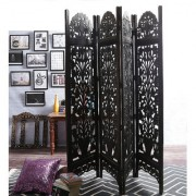Shilpi Mango Wood Partition Screen Room Divider NSHC0299