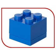 Lego Пластиковый мини-кубик для хранения деталей Lego 4 Blue 40111731