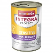 Animonda Integra Protect Sensitive konzerv - 12 x 400 g ló & amaránt