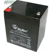 DIAMEC 12V 5Ah akkumulátor