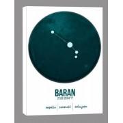 Znak zodiaku, Baran - obraz na płótnie