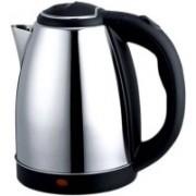 NP NAVEEN PLASTIC Hot Water Pot Portable Boiler Tea Coffee Warmer Heater Cordless Electric Kettle 2 liter Electric Kettle(2, Black)