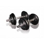 Toorx Fitness Dumbbellset Gietijzer - 2 x 10 kg (20 kg)