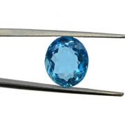 4.13 Ratti Best quality Blue Topaz stone Lab Certified