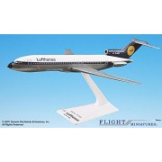 Flight Miniatures Lufthansa Airlines 1967 Boeing 727-200 1:200 Scale Display Model with Stand