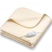 Електрическо одеяло Beurer HD 90, 180 х 130 см. 6 степени на температура, Жълт, BEU.421007