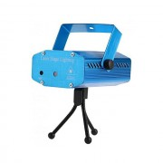 Mini proiector laser profesional cu trepied, senzor sunet incorporat, 3 moduri iluminare