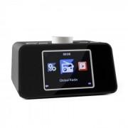 "i-snooze Internetradio Radiowecker WLAN USB 3,2"" TFT-Farbdisplay schwarz"