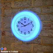 Retro Neon Wall Clock