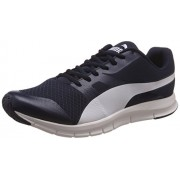 Puma Flexracer Men's Peacoat and White DP Sneakers -9 UK/India (43 EU)