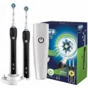 Комплект 2 електрически четки за зъби Oral-B D16.524 PRO 790 Cross Action