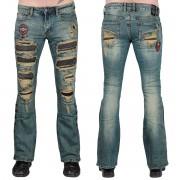 Herren Hose Jeans WORNSTAR - Diurne - WSGP-DIU