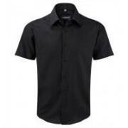 Men´s Sh Sl Tailored Ultimate Non iron Shirt Black