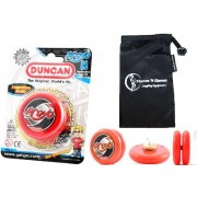 Duncan PROYO YoYo (Red) Pro String Trick YoYos with Travel Bag! Pro YoYos For Kids and Adults