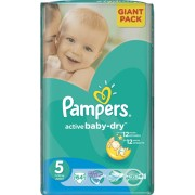 Pampers Active Baby 5 - 64 bucati