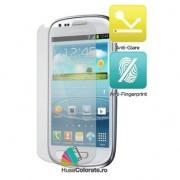 Set 2 buc Folie Mata Antiglare Protectie Ecran Samsung Galaxy S3 Mini i8190