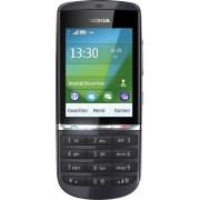 6438158414693 Nokia 300 mobiele telefoon (6,1 cm (2,4 inch) display, touchscreen, 3,2 megapixel camera), grafietgrijs