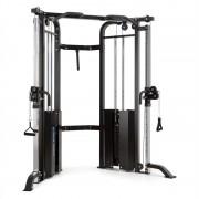 Capital Sports Xtrakter Máquina Musculação Pesos Tracção Cabos Aço 2x90kg Preto