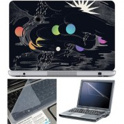 Finearts Laptop Skin 15.6 Inch With Key Guard & Screen Protector - Modern Art